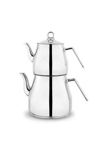 Schafer schafer-prochefçaydanlık Schafer Prochef Dev Çaydanlık Takımı Üst:2.5 Litre Alt:4.5 Litre Renkli